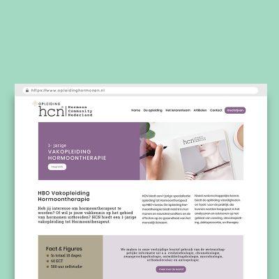 Webdesign_Opleiding_hormonen_webdesign_huisstijl