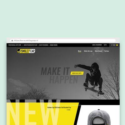 Webdesign_smileycap_branding